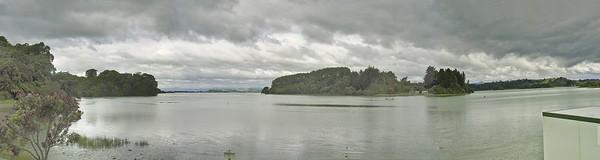 Oyster farm, Ohiwa bay Bay of Plenty New Zealand - 31 Dec 2003