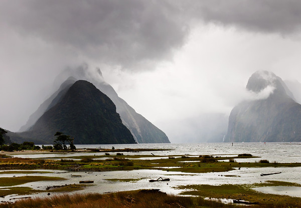 Mitre Peak Milford Sound Fjordland National Park New Zealand