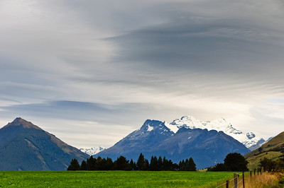 Mt Earnslaw Glenorchy South Island