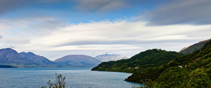 Glenorchy end of lake Whakatipu Queenstown South Island New Zealand