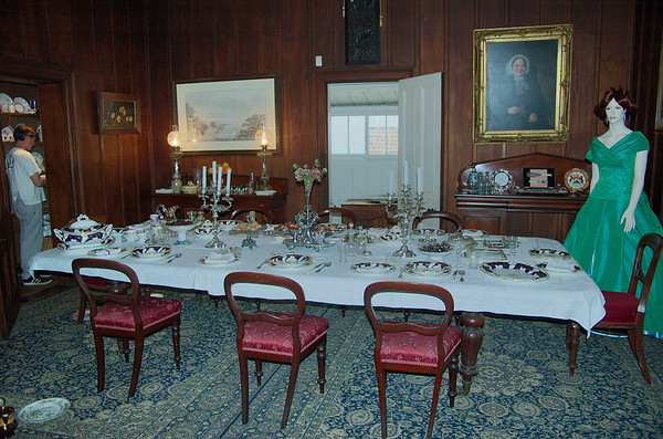 Dining room Highwic House, Newmarket Auckland New Zealand - 22 Oct 2006