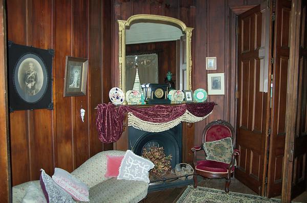 Fire place Highwic House, Newmarket Auckland New Zealand - 22 Oct 2006