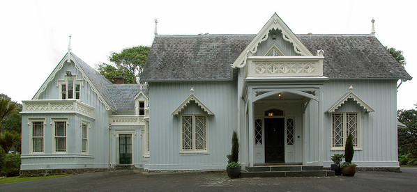 Eastern aspect Highwic House - New Market Auckland New Zealand - 22 Oct 2006