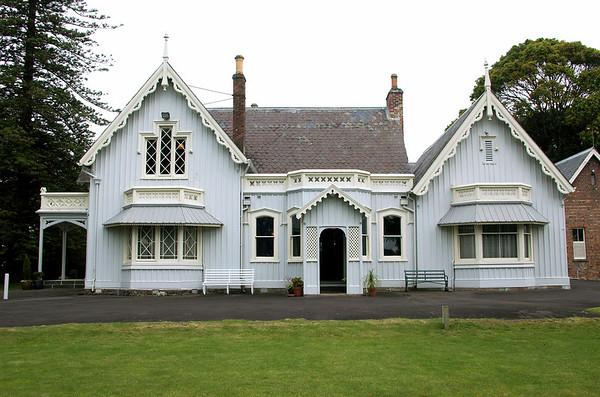Northern aspect Highwic House, Newmarket Auckland New Zealand - 22 Oct 2006