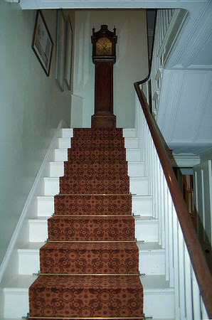 Staircase Highwic House, Newmarket Auckland New Zealand - 22 Oct 2006