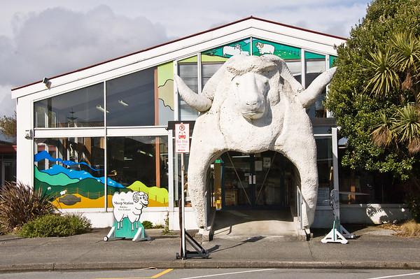 The Sheep Station Hokitika Westland South Island Te Wai Pounamu New Zealand - Sep 2007