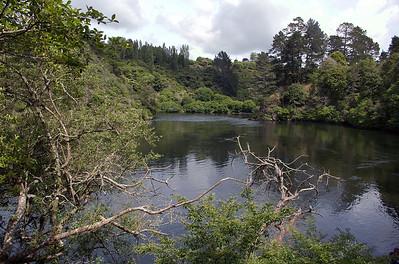 Waikato river Karapiro New Zealand - 4 Nov 2006