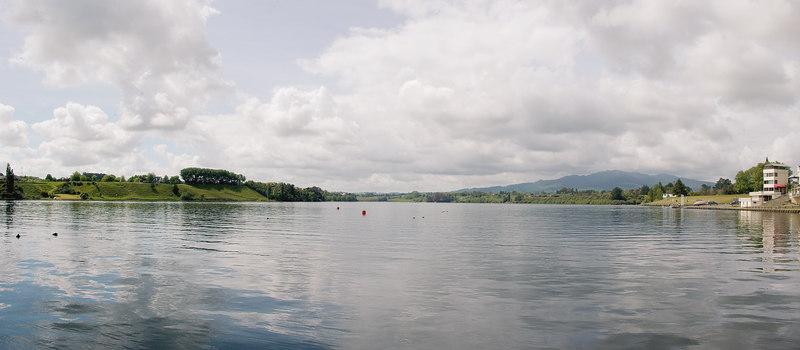Karapiro hydro lake Karapiro New Zealand - 4 Nov 2006