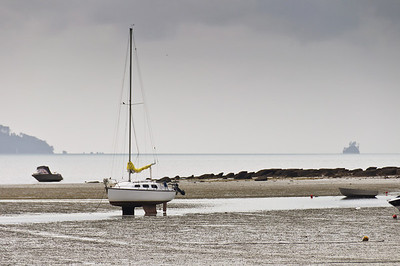 Low tide Sandspit Warkworth North Island New Zealand