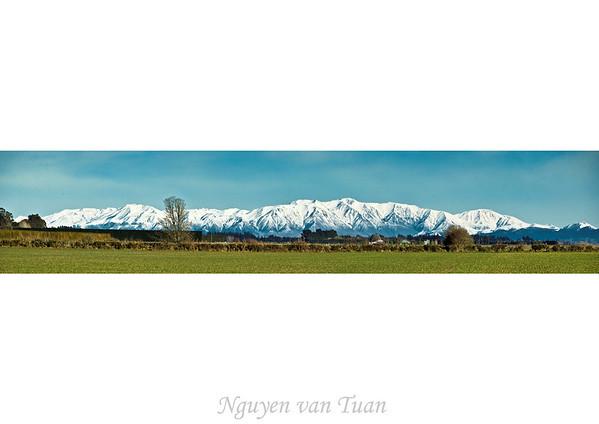Mt Hutt range Canterbury South Island Te Wai Pounamu New Zealand - Sep 07