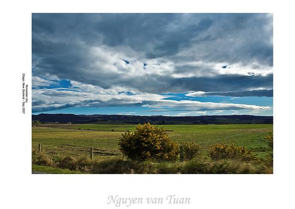 Noreaster sky Otago New Zealand - Sep 07