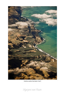 Coastline Canterbury South island Te Wai Pounamu New Zealand - Sep 07