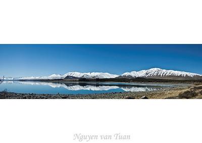 Lake Tekapo McKenzies Country South Island Te Wai Pounamu New Zealand - Sep 07
