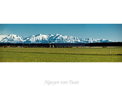 Mt Hutt range Canterbury South Island Te Wai Pounamu New Zealand - Sep 07