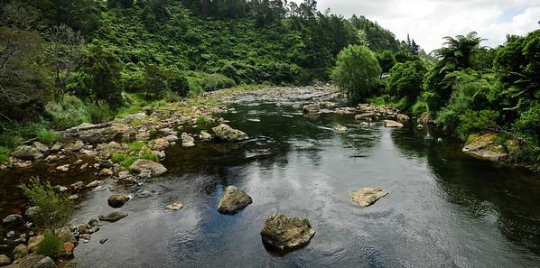 Ohinemuri River Karangahake Gorge