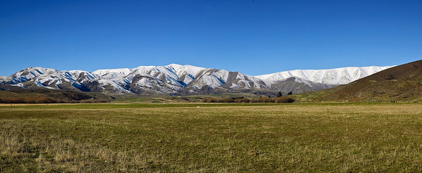 St Bathans range Central Otago
