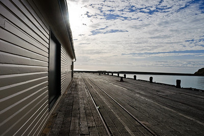 Wharf Oamaru South Island New Zealand