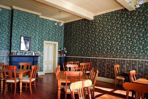 Dining room Criterion Hotel Oamaru New Zealand