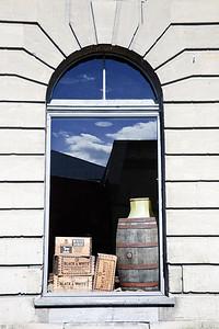 Display window The Barrel House Maturation Company Oamaru New Zealand