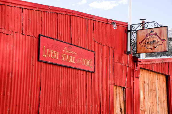 Livery stable and forge Oamaru New Zealand