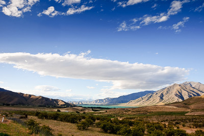 Lake Benmore Waitaki District South Island New Zealand