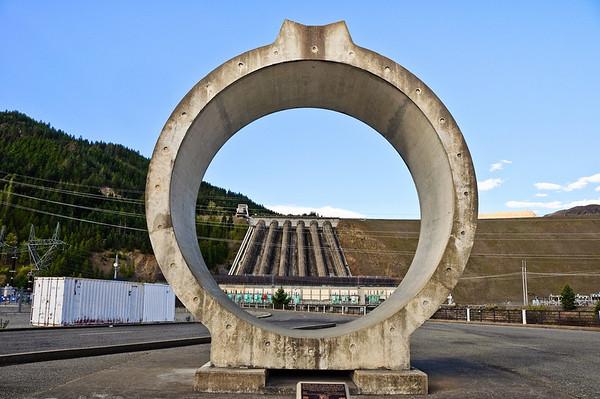 Penstock Benmore Dam Waitaki District South Island New Zealand