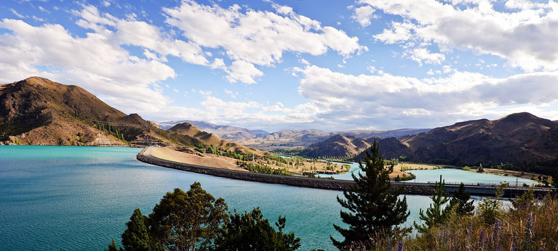 Benmore Dam Benmore Waitaki District South Island New Zealand