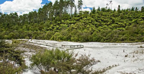Orakei Korako New Zealand - 31 Dec 2007
