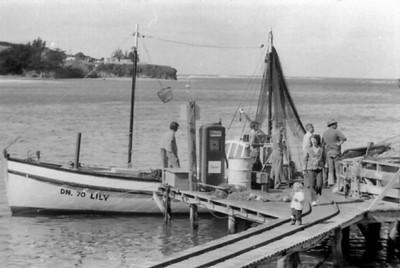 Fishing Boat, Taeri Heads Otago New Zealand - 197X