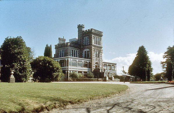 Larnach castle Otago peninsula New Zeland - Dec 1977