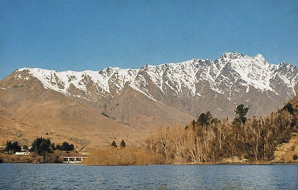 The Remarkables Queenstown New Zealand - Nov 1972