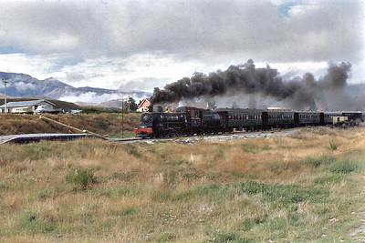Kingston Flyer Lumsden Otago New Zealand - Mar 1972
