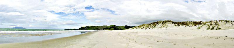 Pakiri Beach Pakiri New Zealand -19  Apr 2003
