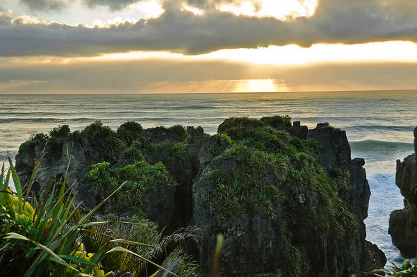 Punekaiki Westland South Island Te Wai Pounamu New Zealand - 4 Sep 2007