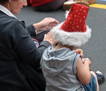 Waiting for Santa Queen Street Auckland