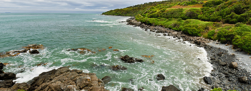 Bay at Land's End Bluff South Island New Zealand