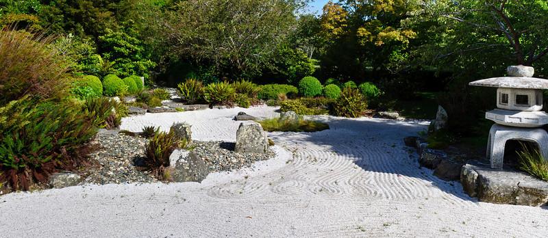 Japanese rock garden Queens Gardens Invercargill South Island New Zealand