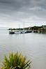 Fishing fleet at anchor<br /> Riverton