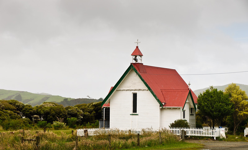 Old St Mary's Anglican Church Waikawa The Catlins South Island New Zealand