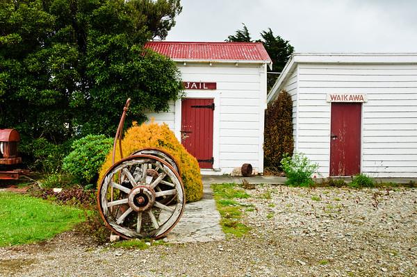 Old jail house Waikawa The Catlins South Island New Zealand