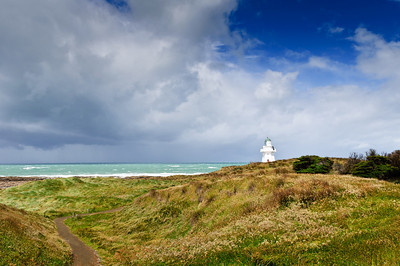 Waipapa Point Lighthouse The Catlins South Island New Zealand