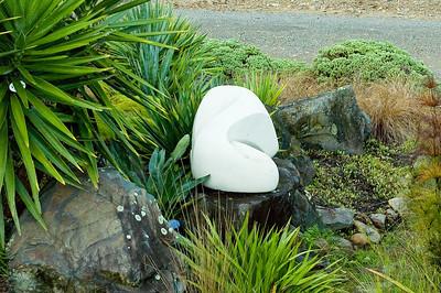 Eternal Diane Scott - Hinuera stone Waitakaruru Arboretum Hamilton New Zealand - 30 Apr 2006