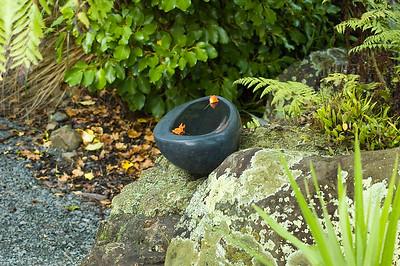 Anchor Me II Jocelyn Pratt - basalt Waitakaruru Arboretum Hamilton New Zealand - 30 Apr 2006