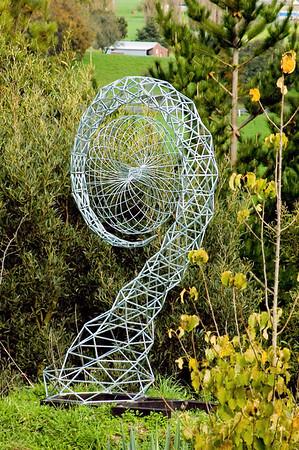 Geometrical space exploration Waitakaruru Arboretum Hamilton New Zealand - 30 Apr 2006