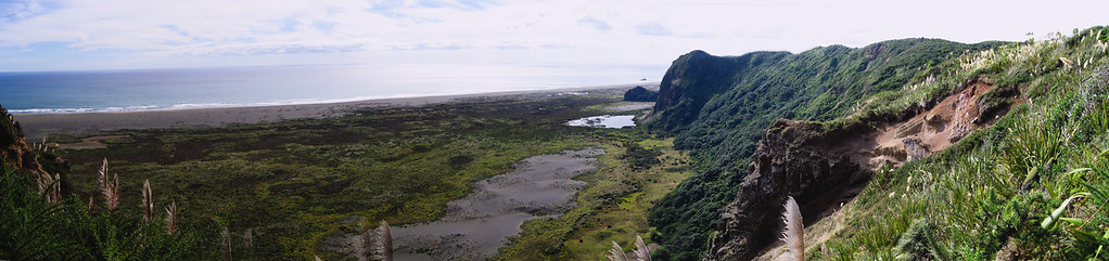View from walking track Waitakere range New Zealand - 12 Mar 2007
