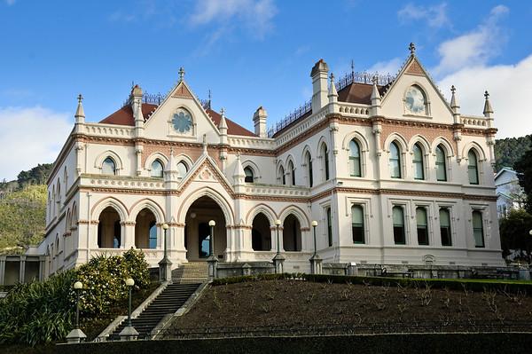 Parliament Library Wellington New Zealand
