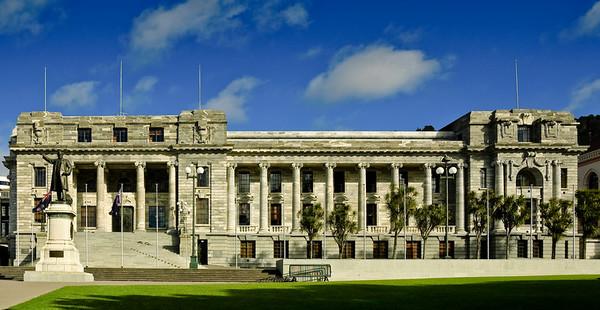Parliament Building Wellington New Zealand - Aug 2007