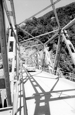 Bridge West Coast New Zealand - 197X