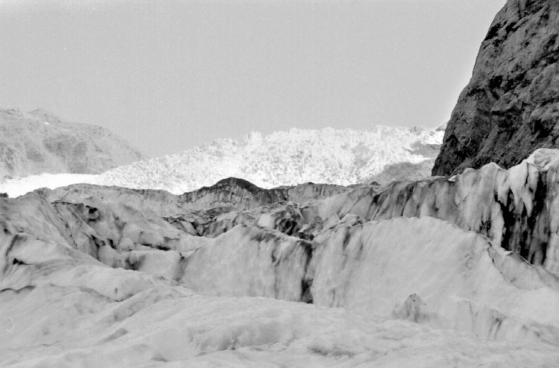 On the Franz Josef glacier Franz Josef West Coast New Zealand - 197X