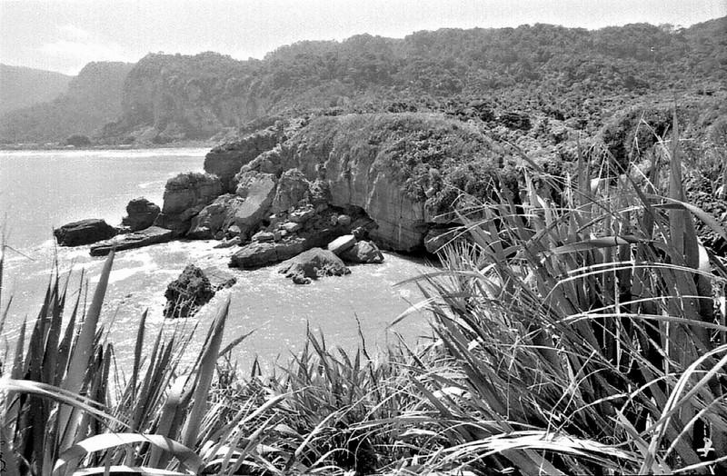 Beach West Coast New Zealand - 197X